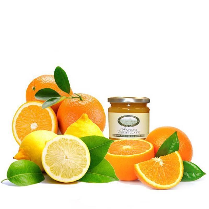 Tris agrumi Arance Limoni e Marmellata