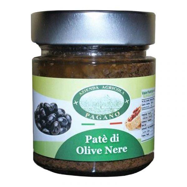 Patè di olive nere gr 220