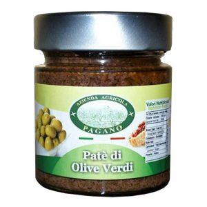 Patè di olive verdi gr 220