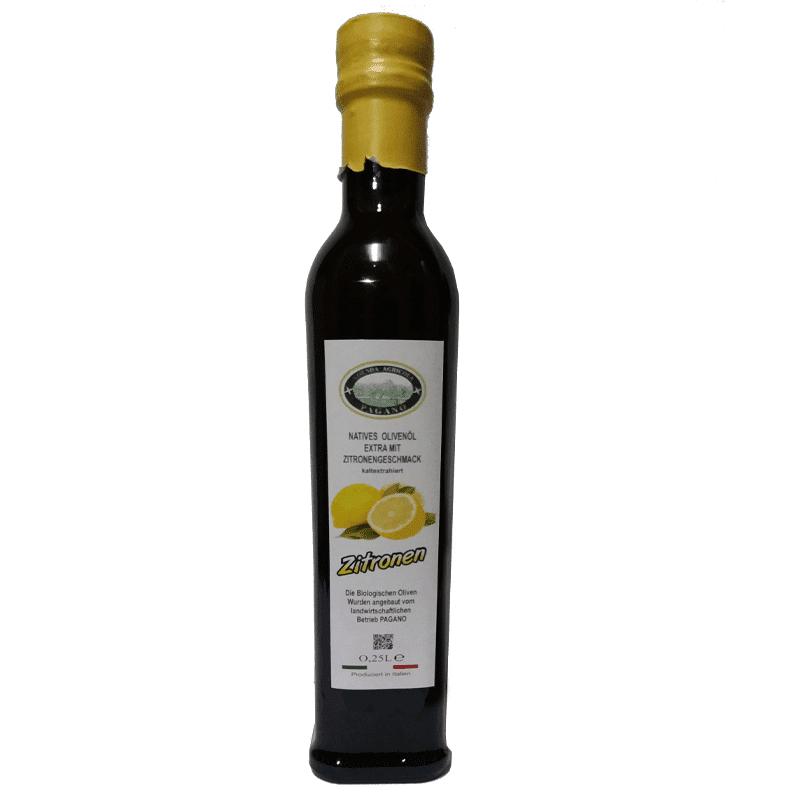 Olio extravergine di oliva aromatizzato al limone 1