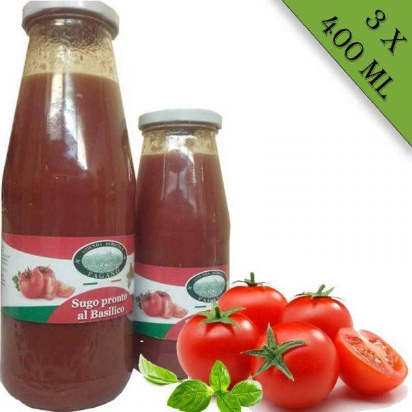 Salsa di pomodoro 3x400 ml