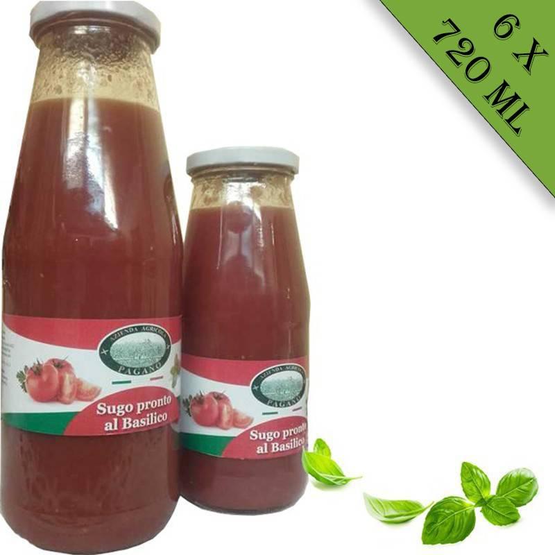 Salsa di pomodoro 6x720 ml